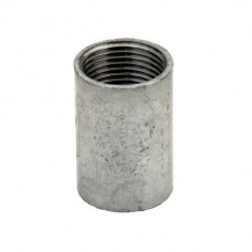 SOLID COUPLER GALVANISED 20MM x10