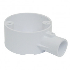 1-Way Terminal Box PVC 20mm White