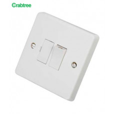 Crabtree 13A Switched Fused Spur White