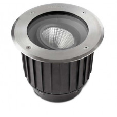 Gea Stainless Steel Aisi316/High Purity Aluminium Polished/Black Recessed Uplight