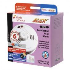 KIDDE 3SFW Slick 230v Mains Powered Heat Alarm