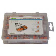 Wago 60281155 Compact Lever Case 221 - 85 Piece
