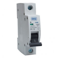 BG CUMB6 Single Pole Type B Miniature Circuit Breaker MCB 6A
