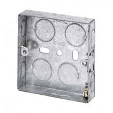 Switch/Socket Box 1G 16mm Metal