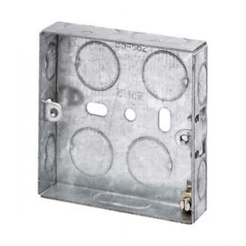Switch/Socket Box 1G 16mm Metal