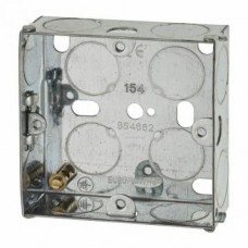 Switch/Socket Box 1G 25mm Metal