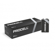 Duracell Procell Alkaline 9V Cell (Box Of 10)
