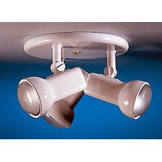 JCC Triple Plate White Spotlight 3 x R80 60w ES