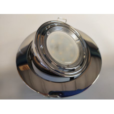 Chrome Eyeball Downlight Fitting GU10/MR16