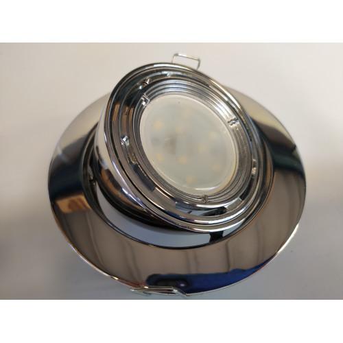 Chrome Eyeball Downlight Fitting GU10/MR16