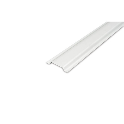 38MM CHANNELLING WHITE PVC (2 METRE LENGTHS)