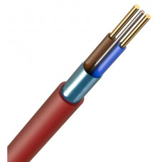 1.5MM 2CORE+E FIRE SAFE RED CABLE (100m)