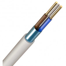 1.5MM 2CORE+E FIRE SAFE WHITE CABLE (100m)