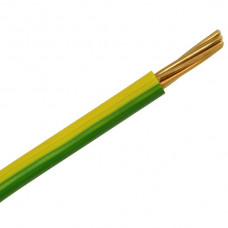 CABLE 6491B 35MM GREEN/YELLOW LSOH