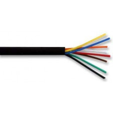 8 CORE ALARM CABLE 100M BLACK