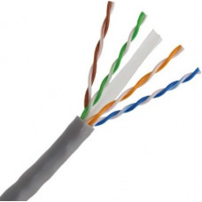CAT6 UTP GREY CABLE 305M ENHANCED SOLID