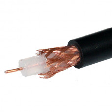 RG59 CCTV CO-AX CABLE 100MTR BLACK