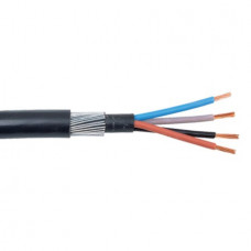 CABLE 6944XLH 6.0MM 4 Core 7/1.04 BLACK
