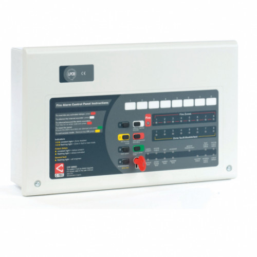 CTEC CFP704-2 FIRE PANEL 4 ZONE 2 WIRE
