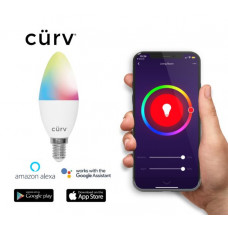 Curv Rgb Candle E14 Smart Lamp