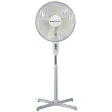 """Pro-Elec 16"""" Pedestal Fan, White - PEL01924"""