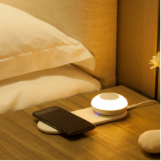 Link2Home Wireless Charging Station & Portable Light