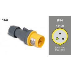 FAMATEL IP44 16A 110V 2P+E PLUG