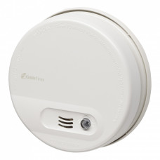 Kidde KF10 Ionisation Smoke Alarm - Mains Powered with Battery Back-up