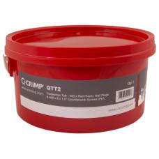 Trade Tub Red Plugs & Screws 400 8X1&1/2
