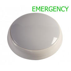 HARLEC 15W LED EMERGENCY POLO BULKHEAD