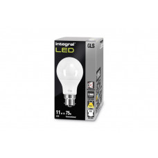 INTEGRAL Classic Globe (GLS) 11W (75W) 2700K 1060lm B22 Non-Dimmable-Lamp