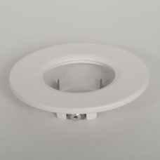 KSR QR GU10 IP20 WHITE DETACHABLE BEZEL