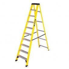 Fibreglass Ladder 10 Tread Yellow