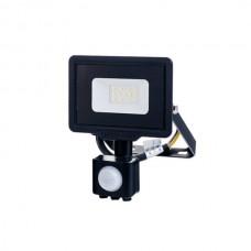 OPTONICA 5953 - LED SMD Floodlight Black City Line With PIR 10W