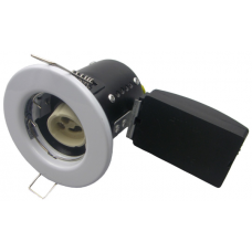 FIRE RATED SHORT CAN DOWNLIGHT GU10 FIXED - WHITE