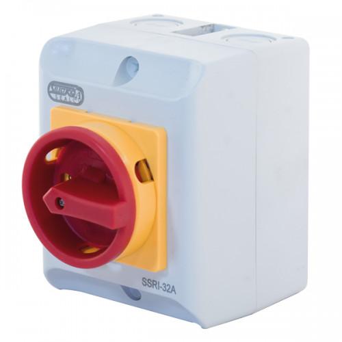 32A IP65 55kW Rotary Isolator Switch – 4 Pole 415V
