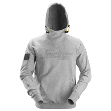 Snickers Hoodie Logo Grey 2881