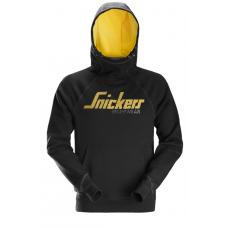 Snickers Hoodie Logo Black 2889