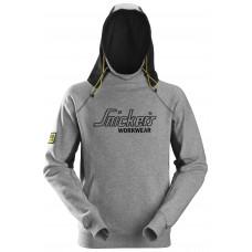 Snickers Hoodie Logo Grey 2815