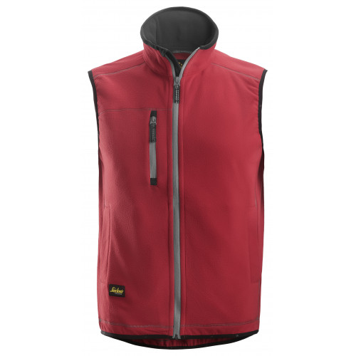 Snickers Ais Fleece Red 8014