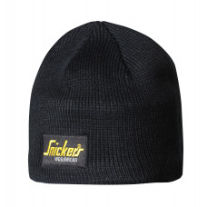 Snickers Beanie Hat Logo Black 9084