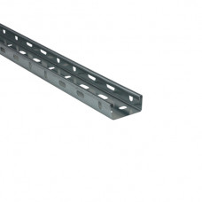 Pre-Galvanised Medium Duty Cable Tray 50mm x 3m UNITRUNK (LOCAL DELIVERY)
