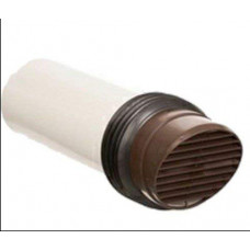 100mm Brown High Rise Vent Kit