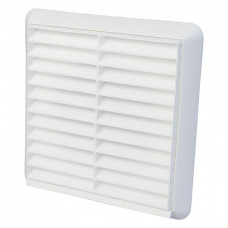 "4"" Fixed Grill White 100mm"