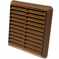 "4"" Fixed Grill Brown 100mm"