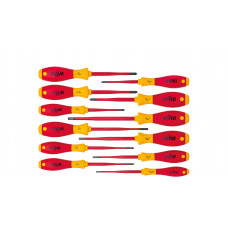 Wiha Screw Driver Set Slim Fix 12Pc Vde 41003
