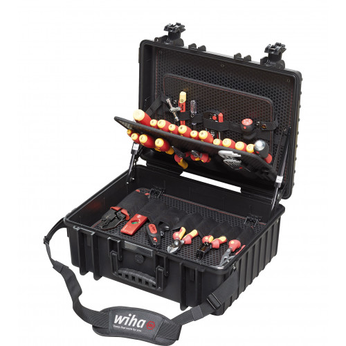 Wiha Competence XL Electrician's 80 Piece Tool Box 40523 ( IN STOCK NOW )
