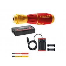 WIHA 44318 SpeedE 2.0 VDE Electric Screwdriver 7 Pcs Set