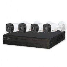 8CH DVR 2MP Kit with 4x Bullet Cameras