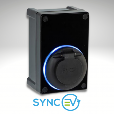Sync EV Domestic Compact Car Charger - 7kW
